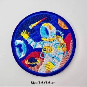 Accessories - Iron On Space Astronaut Embroidered Patch